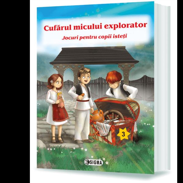 Cufărul micului explorator. Jocuri pentru copii isteți (3)