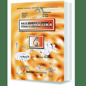 Matematica. Manual (In Limba Maghiara) Pentru Cls. A VI-A