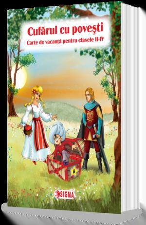 Cufărul cu povesti 8. Carte de vacanţă pentru clasele II-IV