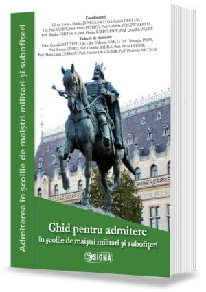 Ghid pentru admitere în școlile militare de maiștri militari și subofițeri