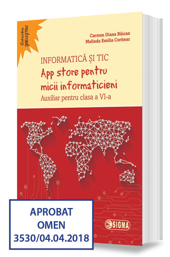 App store pentru micii informaticieni. Auxiliar pentru clasa a VI-a (Informatică și TIC)