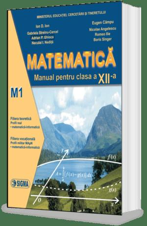 PrevNext ÎnapoiUrmătorul Matematica. Manual M1 (Cl. a XII-a)