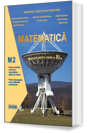 Matematica. Manual M2 (Cl. a XI-a)