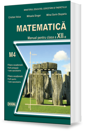 Matematica. Manual M4 (Cl.a XII-a)