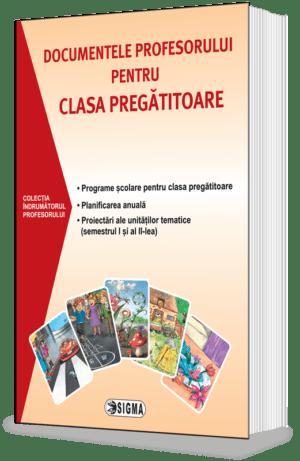 Documentele profesorului pentru clasa pregătitoare