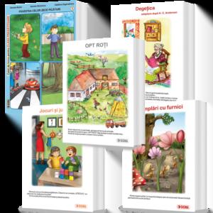 Set Cărți Uriașe, Clasa Pregătitoare, Semestrul I