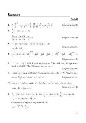matematica admitere colegii militare, pag 35