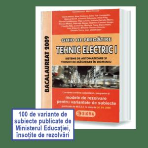 Bacalaureat-Tehnic-Electric-I-2009