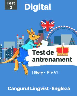 Test 2 de antreament – Engleza – Story