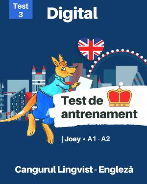 Test 3 – Cangurul Engleza – Nivel Joey