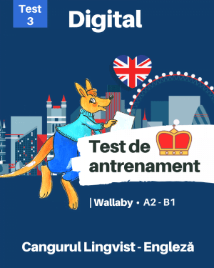 Test 3 – Cangurul Engleza – Nivel Wallaby