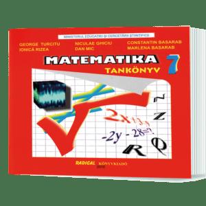 Matematică. Manual. Maghiară