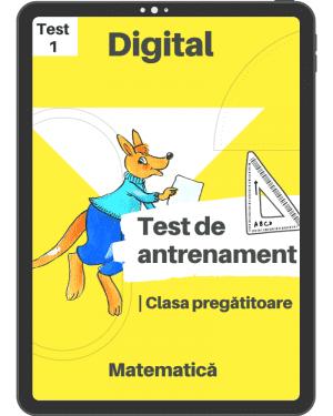 Test 1 – clasa pregătitoare_2019-2020_mai