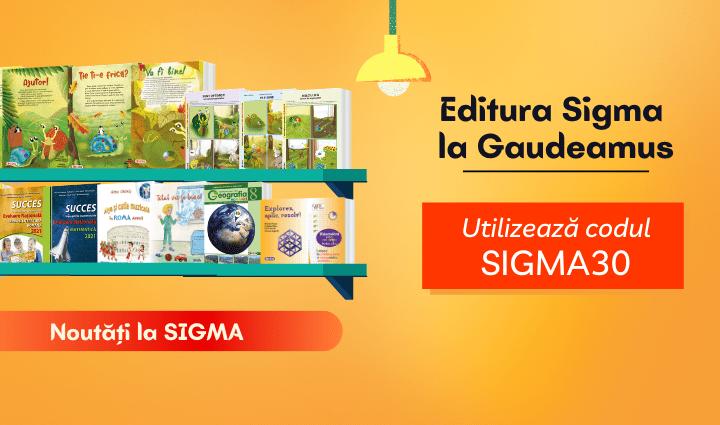 Editura Sigma la Gaudeamus 2020, ediție desfășurată online