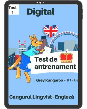 Test 1 antrenament – engleza – Grey Kangaroo