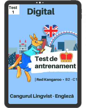 Test 1 antrenament – engleza – Red Kangaroo