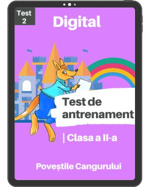 Test 2 – Povestile Cangurului – Clasa a II-a