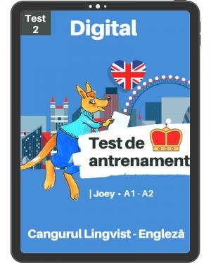 Test 2 antrenament – engleza – Joey