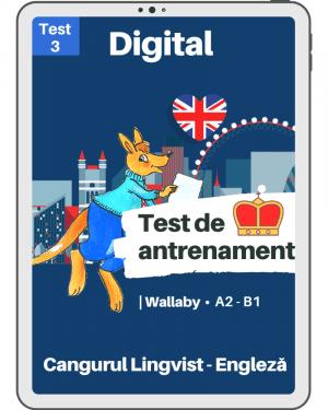 Test 3 antrenament – engleza – Wallaby