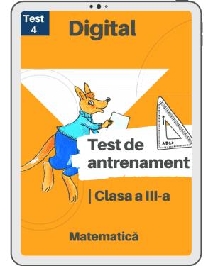 Test 4 – Cangurul Matematician – Clasa a III-a