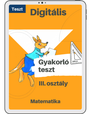 Test 4 – Maghiara – Cangurul Matematician – Clasa a III-a