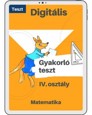 Test 4 – Maghiara – Cangurul Matematician – Clasa a IV-a