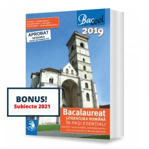 Bac – Literatura romana in pasi esentiali – v2