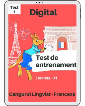 Test antrenament – FR – B1