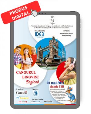 Produs digital Cangurul Engleza actualizat
