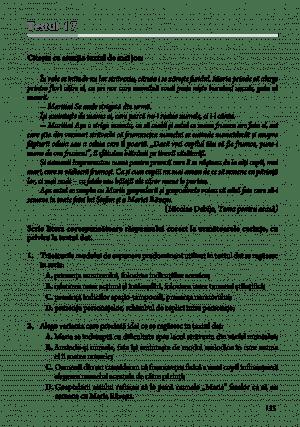 Romana 2021 – Admintere colegii militare – pg 135
