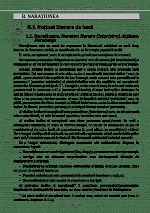 Textul literar – NOTIUNI DE BAZA – pg23