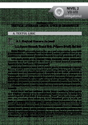 Textul literar – NOTIUNI DE BAZA – pg39