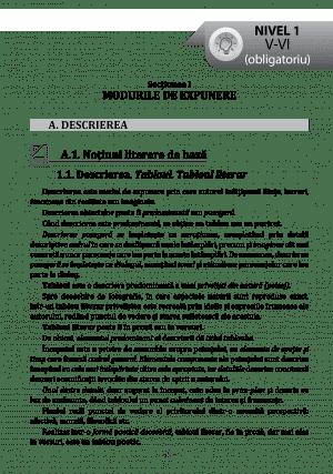 Textul literar – NOTIUNI DE BAZA – pg7