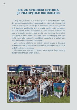 istoria si traditiile minoritatii rrome cls VII – pg 6